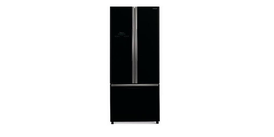 Hitachi R Wb480 405l French Door Refrigerator Black