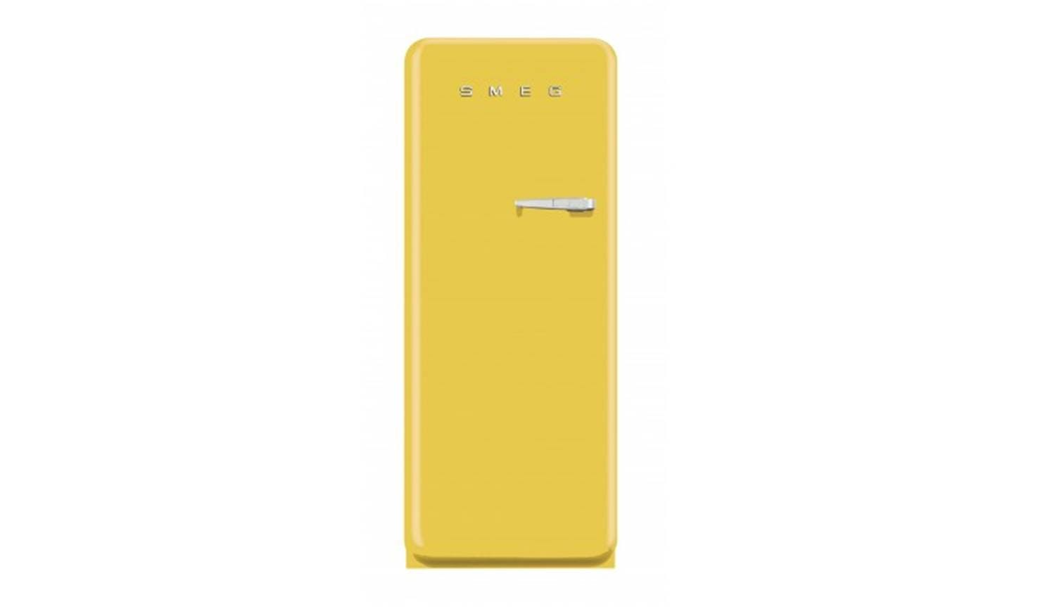 smeg fab28 fridge yellow harvey norman singapore. Black Bedroom Furniture Sets. Home Design Ideas