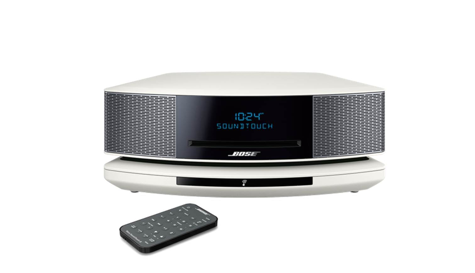 bose wave soundtouch music system iv white harvey norman singapore. Black Bedroom Furniture Sets. Home Design Ideas
