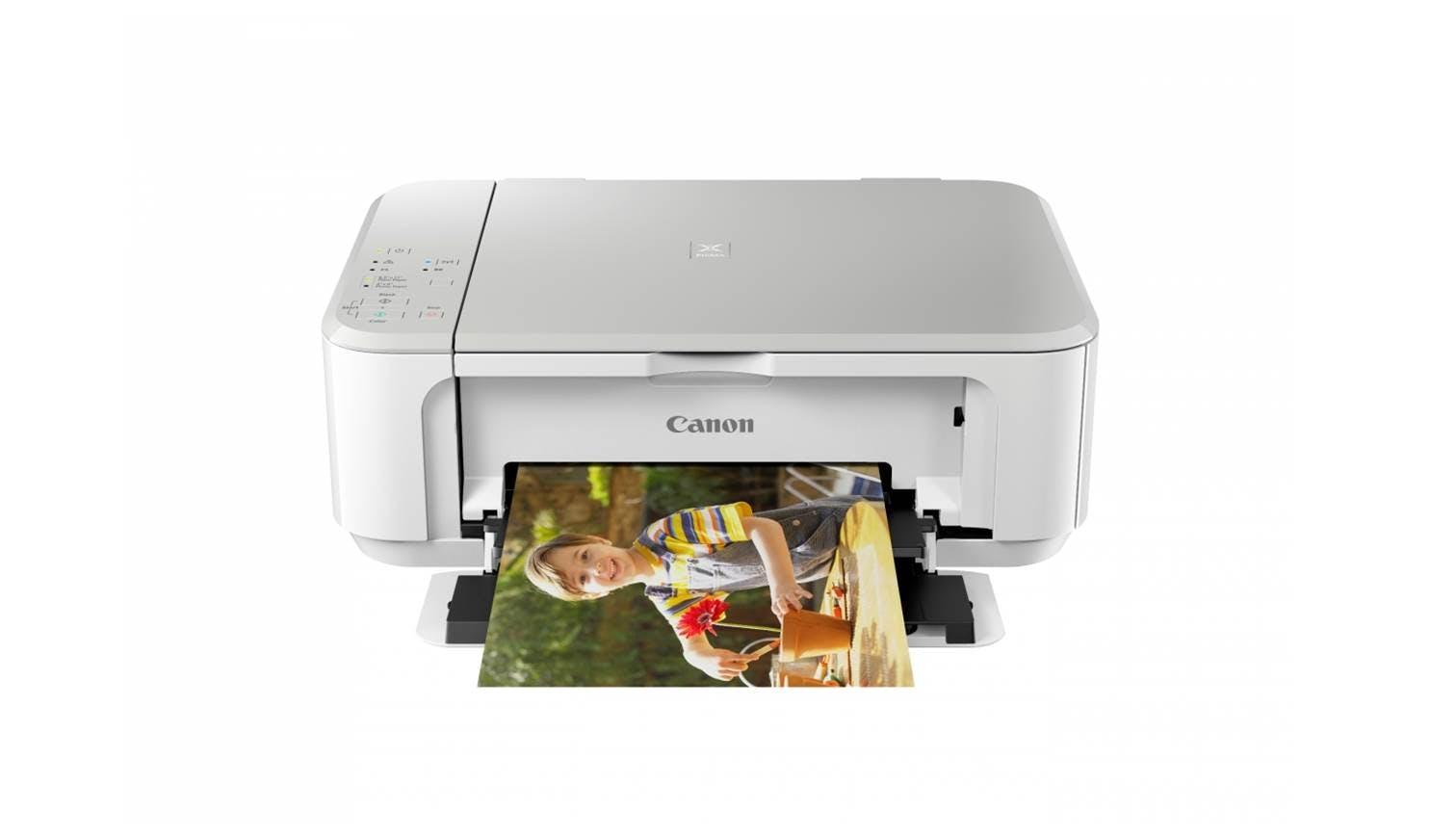 Canon Pixma Mg 3670 All In One Printer White Harvey