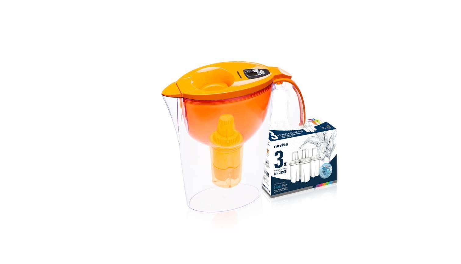 Novita Np 2290 Water Pitcher Bundle Orange Harvey