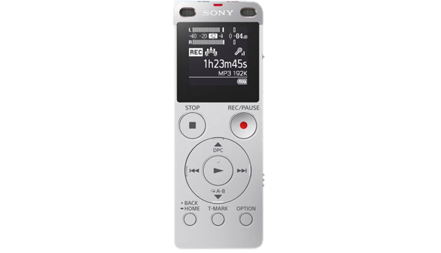 Sony ICD-UX560F Voice Recorder - Silver | Harvey Norman ...