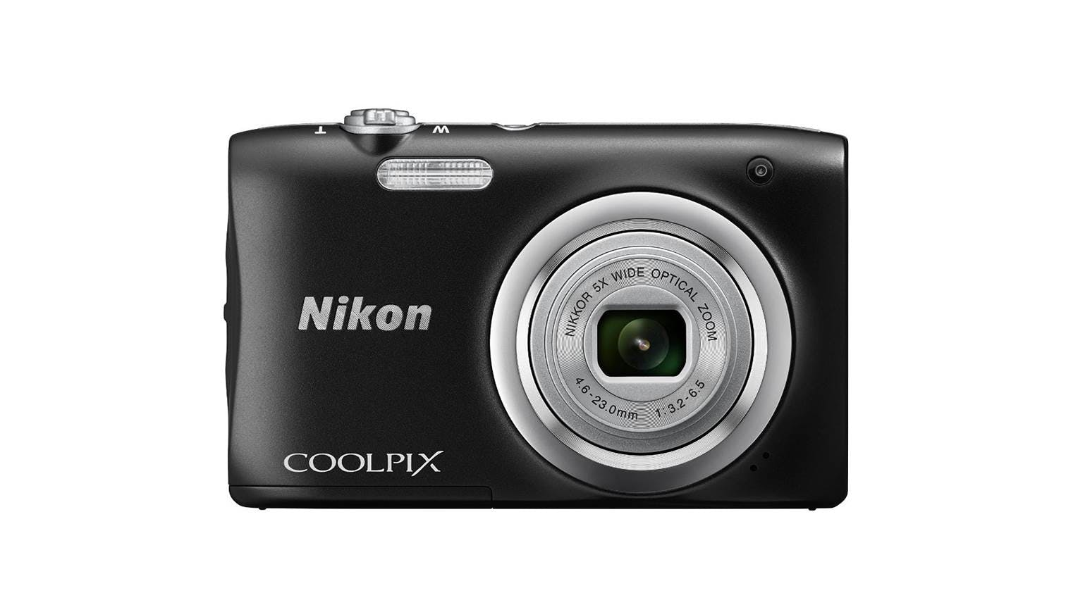 Nikon Coolpix A100 Digital Camera Black Harvey Norman