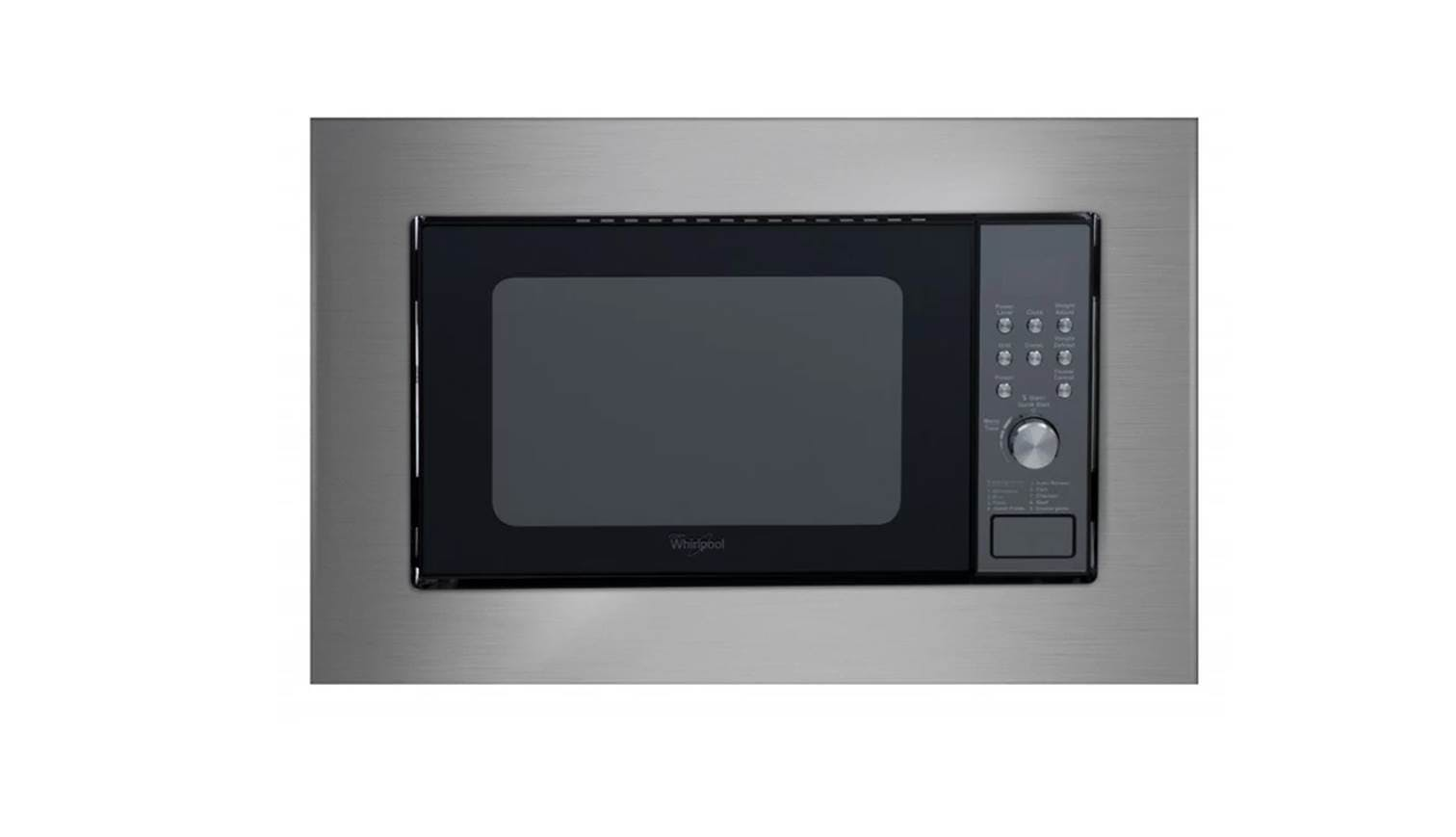 whirlpool mwb208st built in microwave oven harvey norman singapore. Black Bedroom Furniture Sets. Home Design Ideas