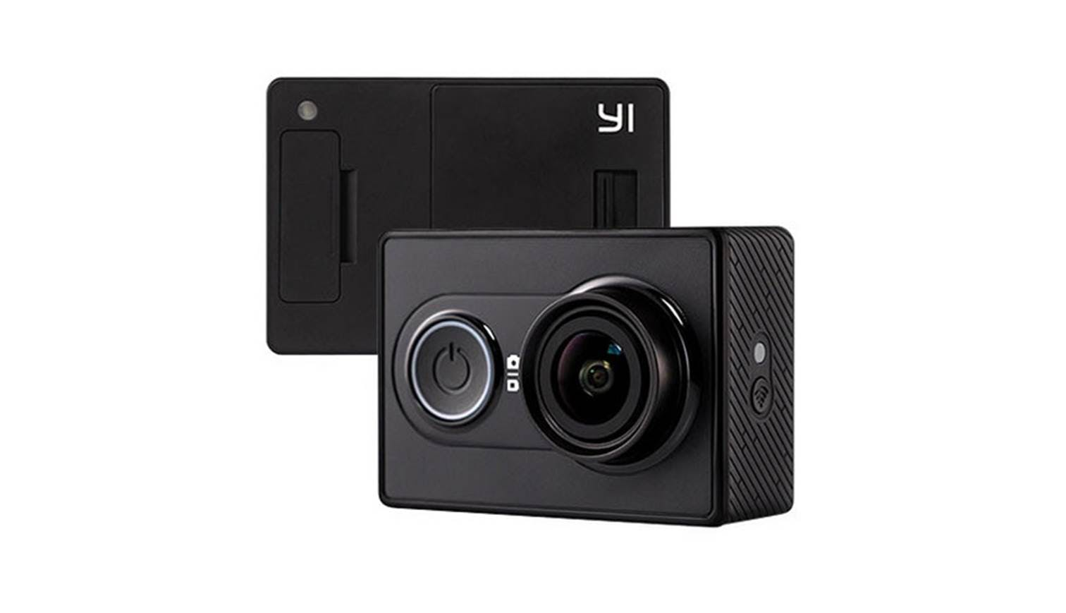 xiaomi yi action camera with bluetooth set black. Black Bedroom Furniture Sets. Home Design Ideas
