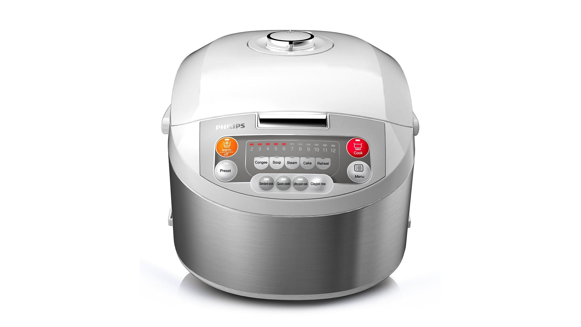 6f16d951bca Philips Viva Collection Fuzzy Logic 1.8L Rice Cooker