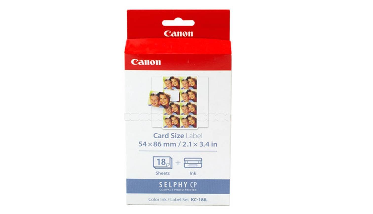 Canon KC-18IL Label CP 8 Paper