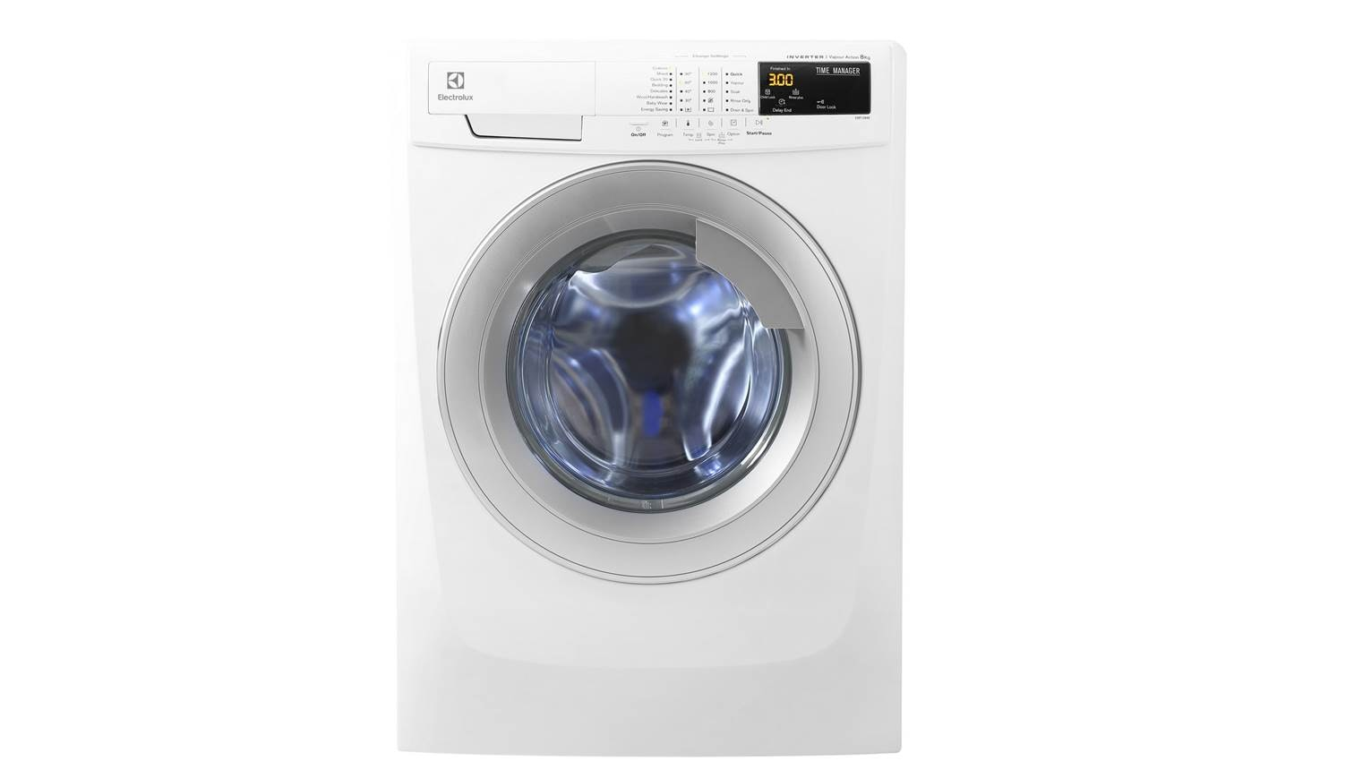 electrolux top load washer. electrolux ewf-12844 8kg front load washer top