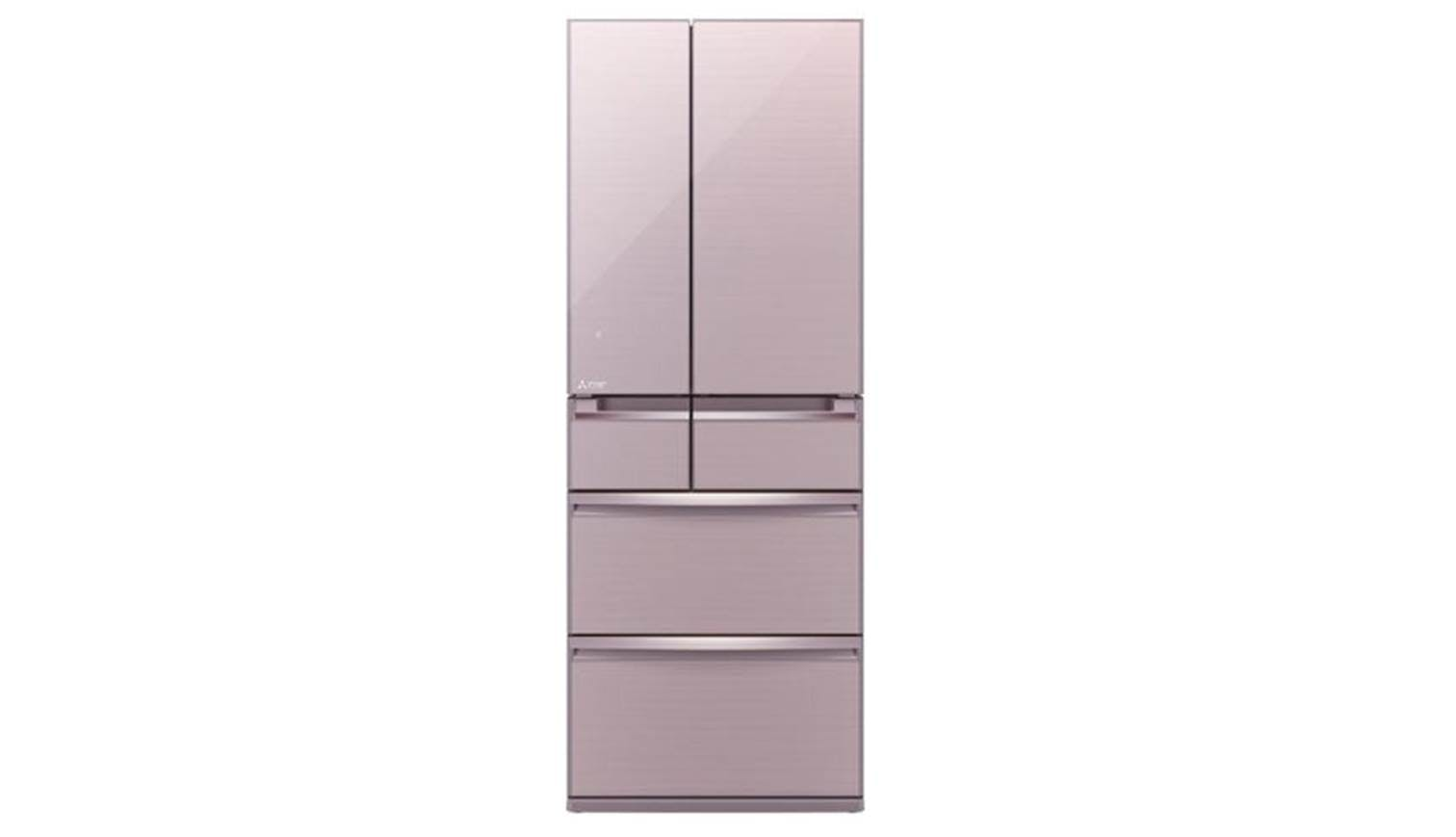 Mitsubishi Mr Wx61z 605l 6 Door Fridge Rose Pink