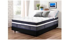 eea275076b478 Backpedic ULTIMATE DELUXE Queen Size Latex Pocketed Spring M..