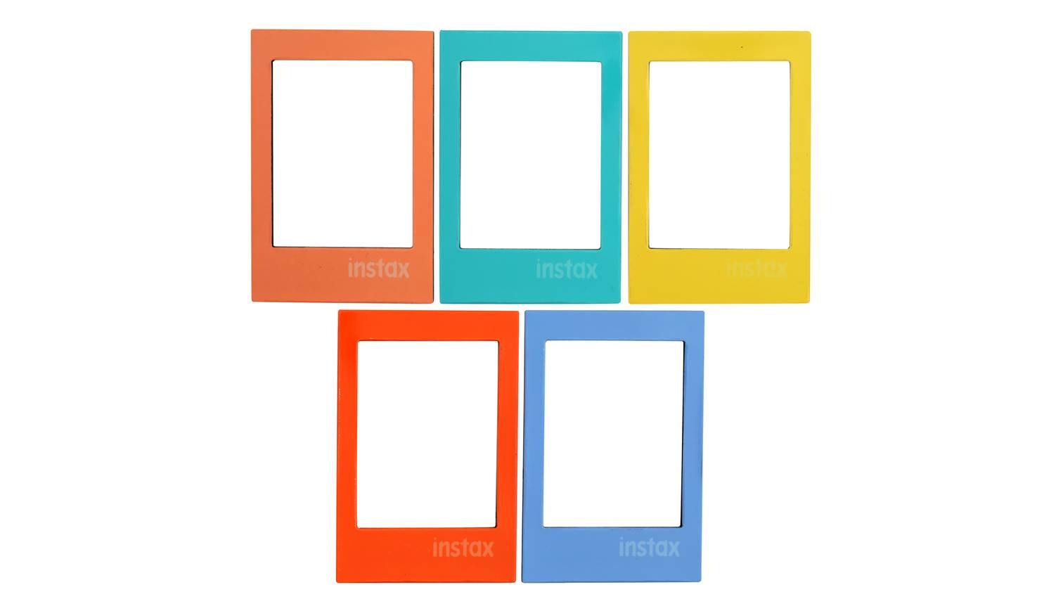 Fujifilm Instax 5pk Magnetic Frame Bright Harvey