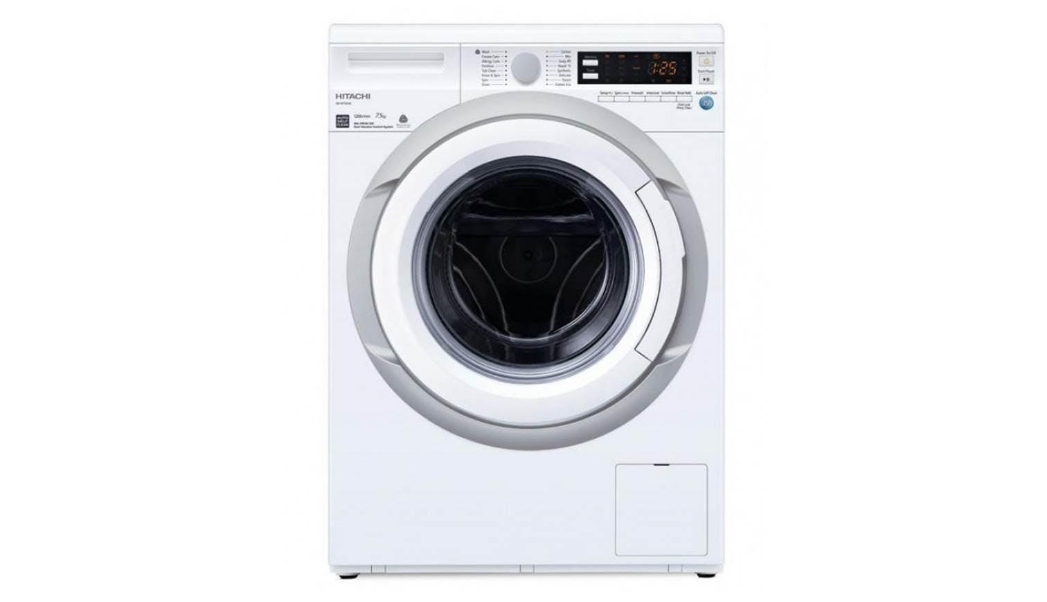 Hitachi Bd W75aae 7 5kg Front Load Washing Machine