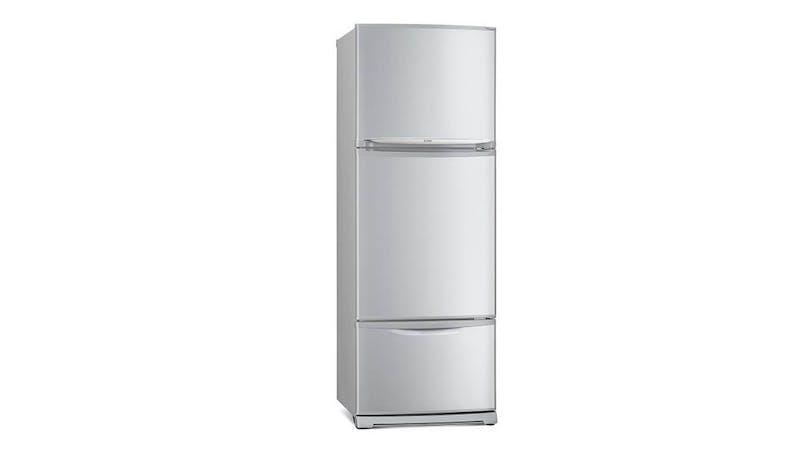 Harvey Norman Christmas sale - Mitsubishi MR-V45EG-ST-P 430L 3 Doors Refrigerator