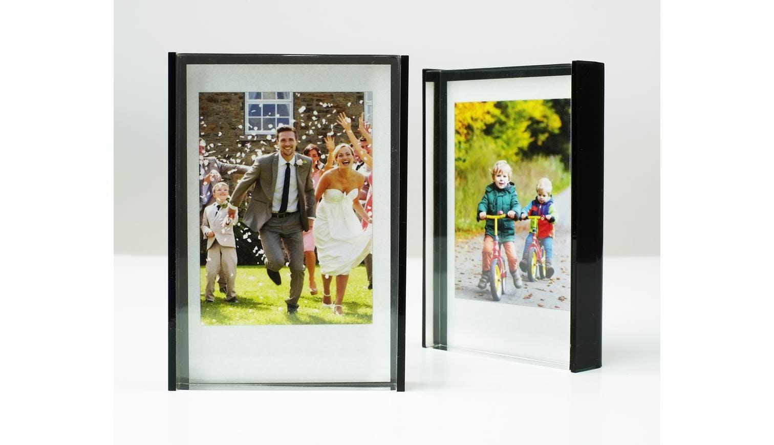 Fujifilm Instax Acrylic Block Photo Frame Black Harvey