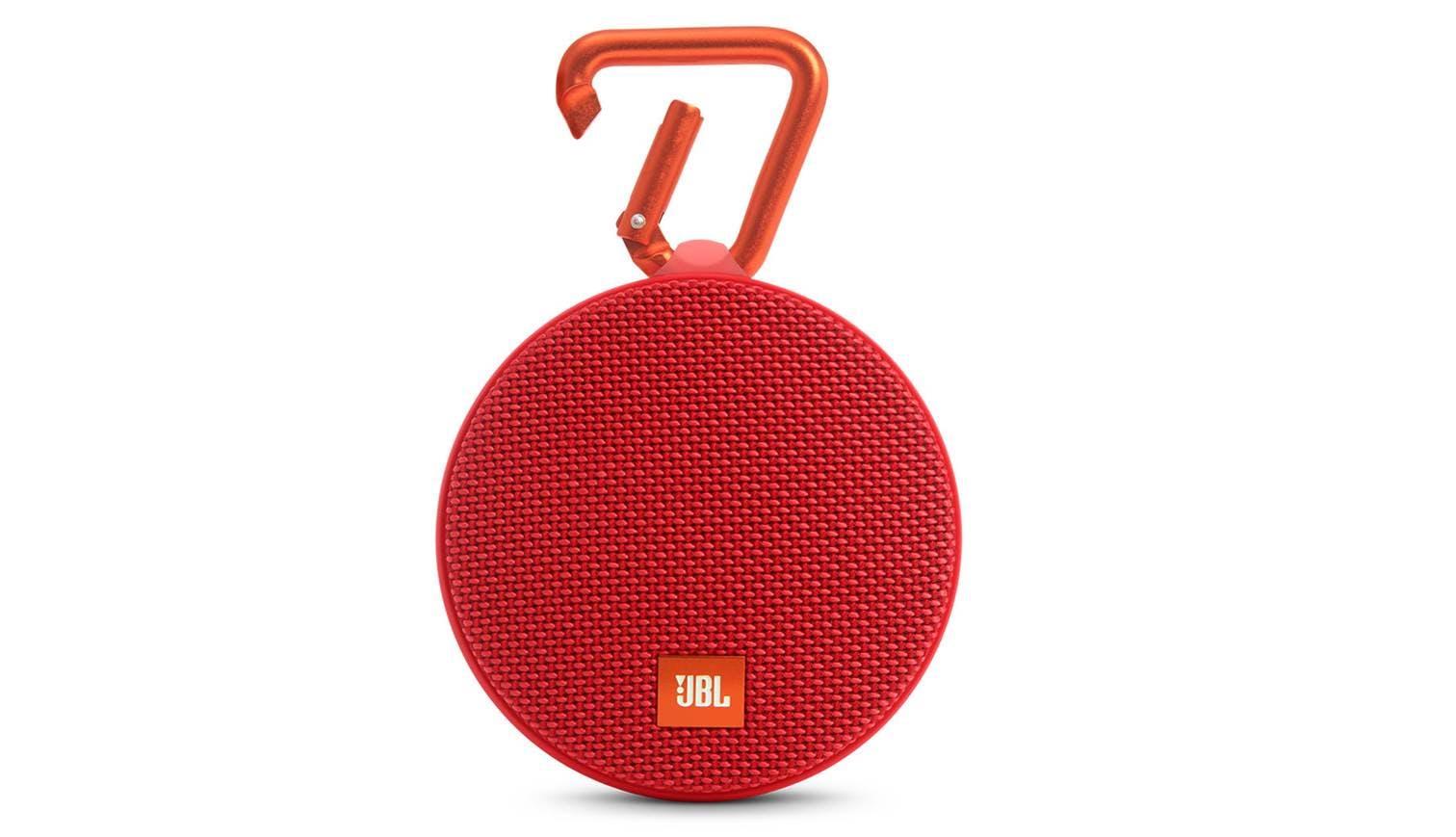 jbl clip ii portable bluetooth speaker red harvey norman singapore. Black Bedroom Furniture Sets. Home Design Ideas