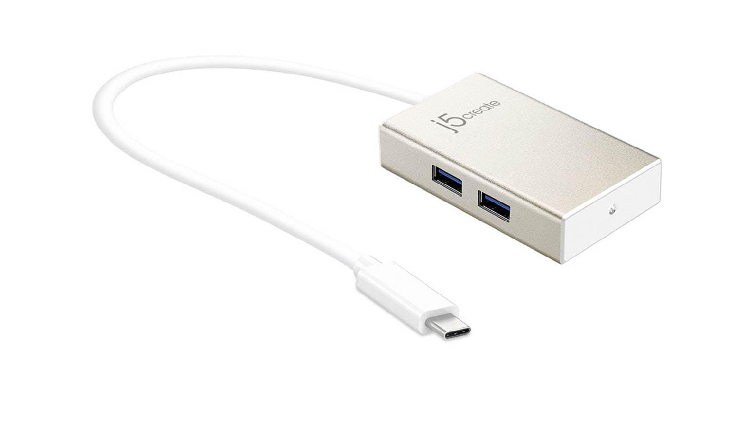 J5 Create USB Type-C 4-Port Hub