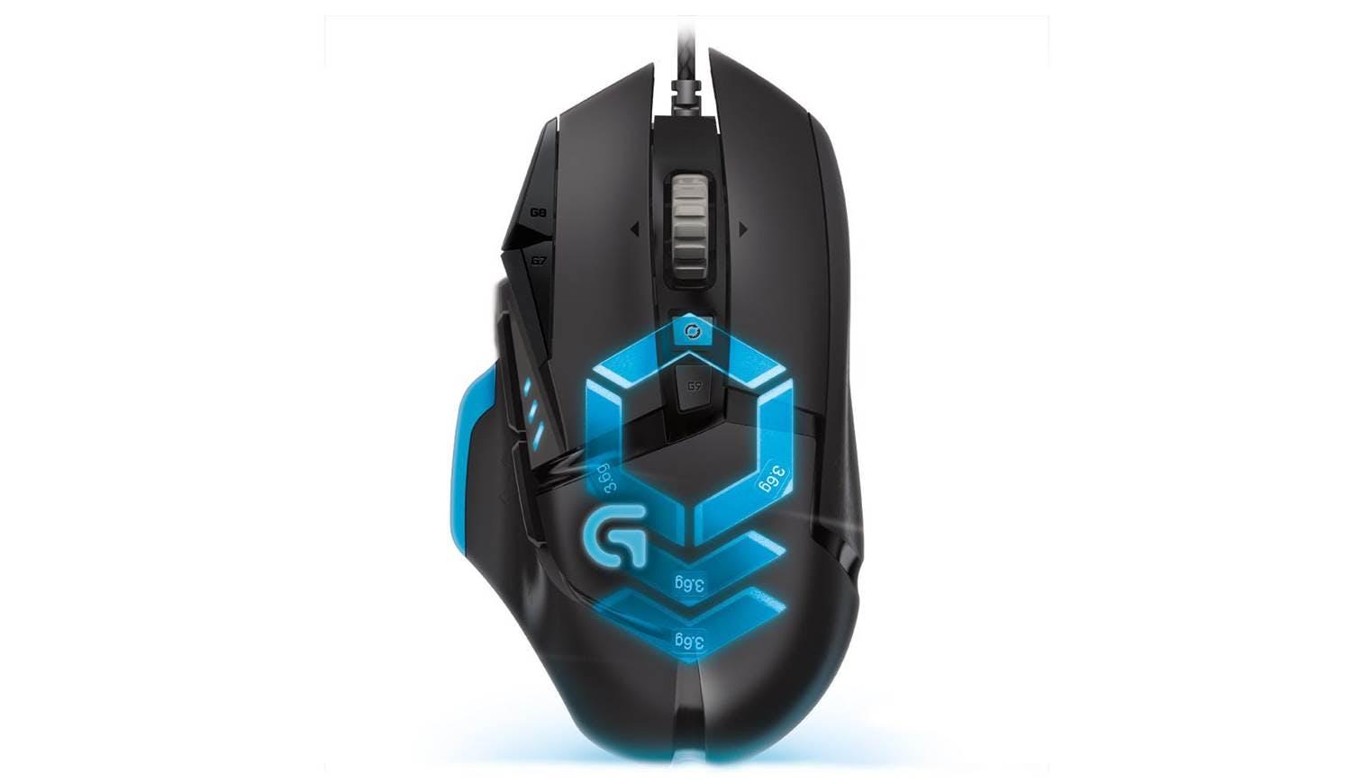 Logitech G502 Proteus Spectrum Gaming Mouse Harvey