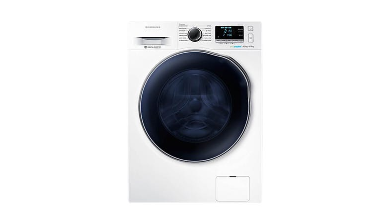 samsung wd80 combo 8kg washing machine with eco bubble. Black Bedroom Furniture Sets. Home Design Ideas