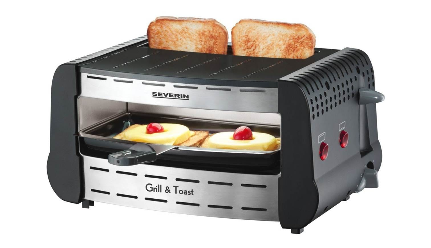 Kitchen Appliances Singapore Severin Gt2802 Automatic Toaster With Grill Pan Harvey Norman