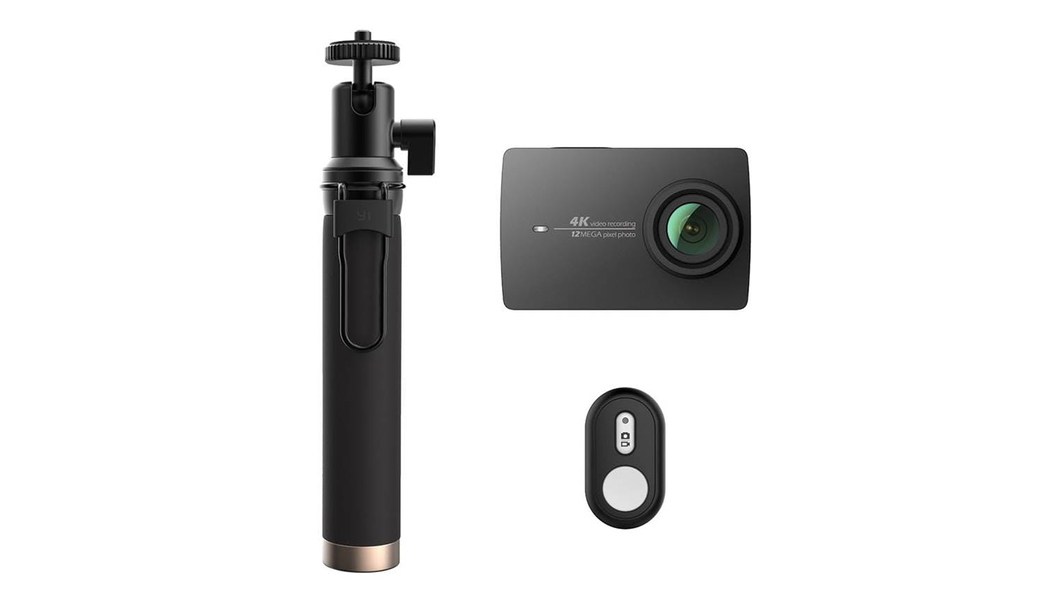 xiaomi yi 4k action camera 2 bluetooth kit night black. Black Bedroom Furniture Sets. Home Design Ideas