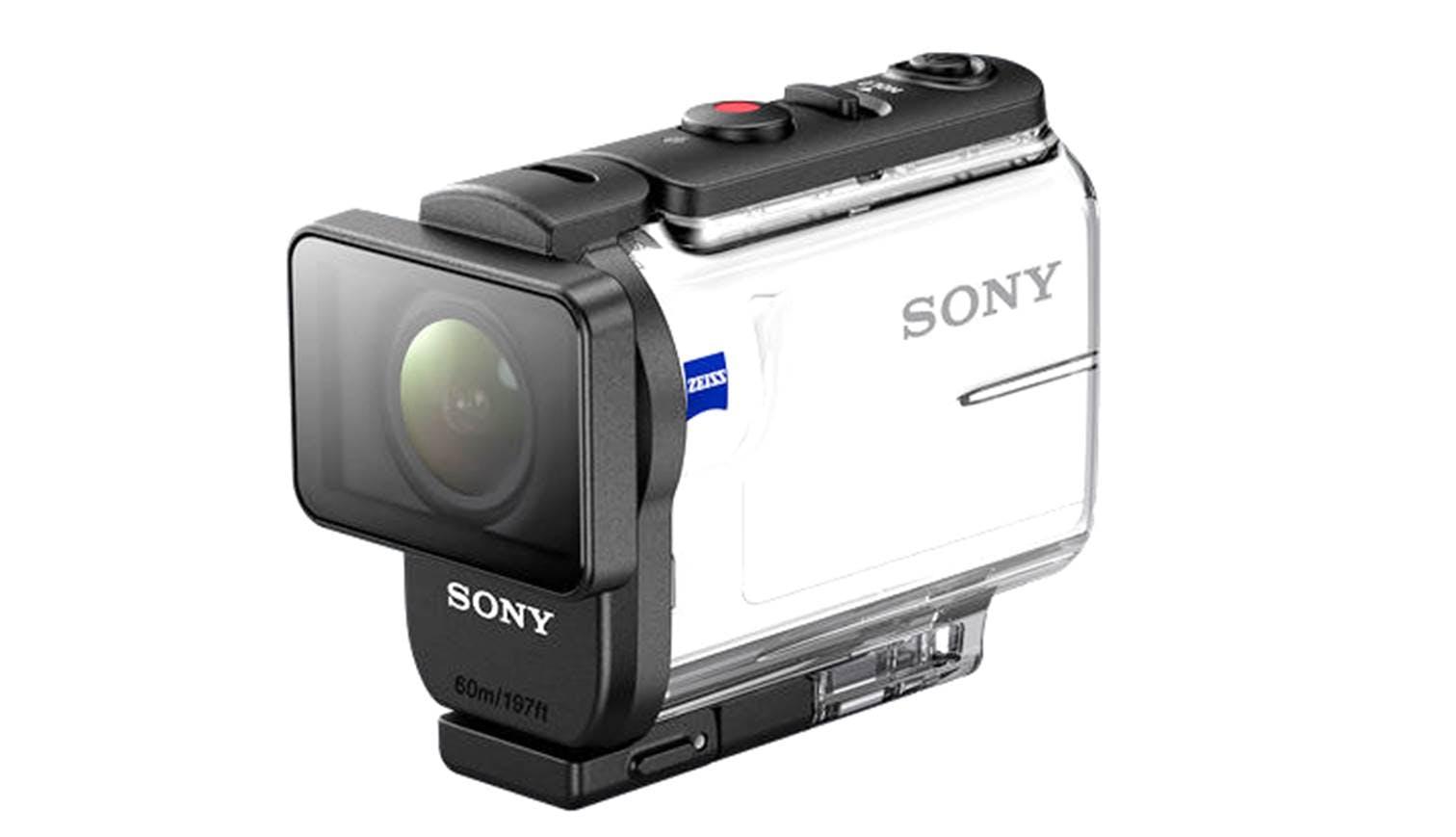 Camera Sony Action Cam Waterproof Case sony hdr as300 action camera with waterproof case harvey norman case
