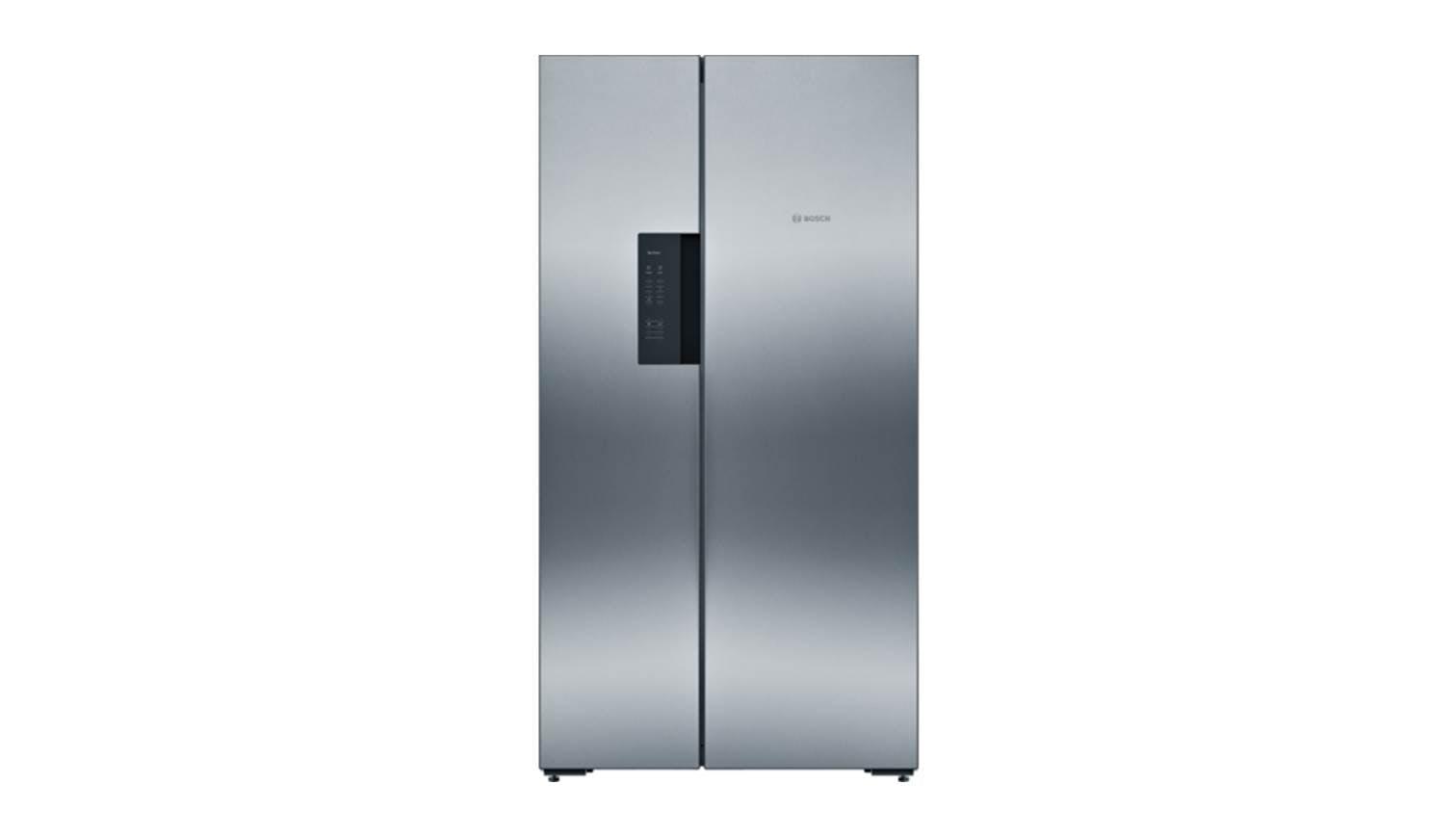 bosch kan 92vi35 side by side fridge freezer harvey norman singapore. Black Bedroom Furniture Sets. Home Design Ideas
