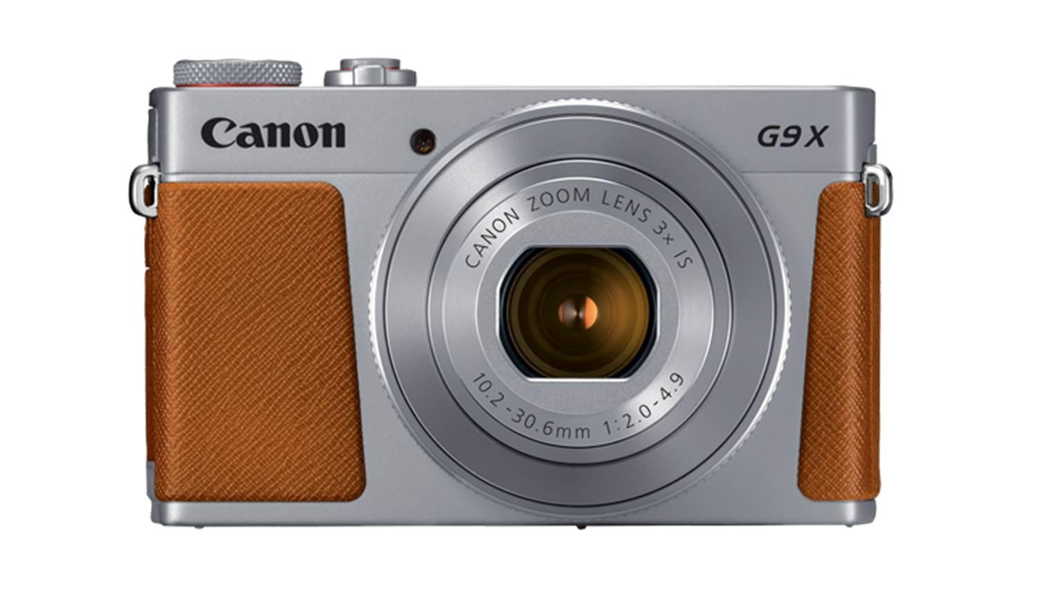 Canon Powershot G9x Mark Ii Digital Camera Silver
