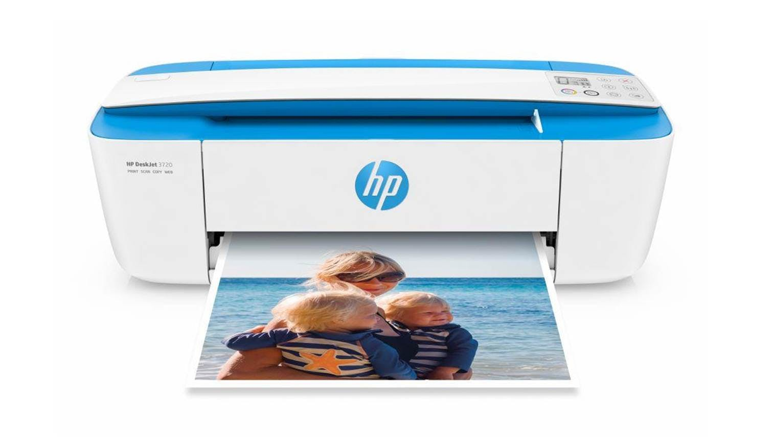 HP DeskJet 3720 All-In-One Printer - Blue