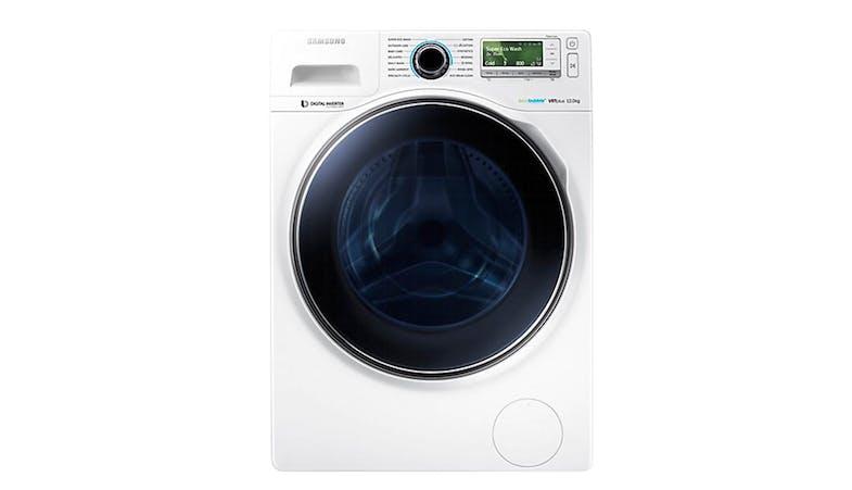 samsung ww 12h8420ew fq 12kg eco bubble washer harvey. Black Bedroom Furniture Sets. Home Design Ideas