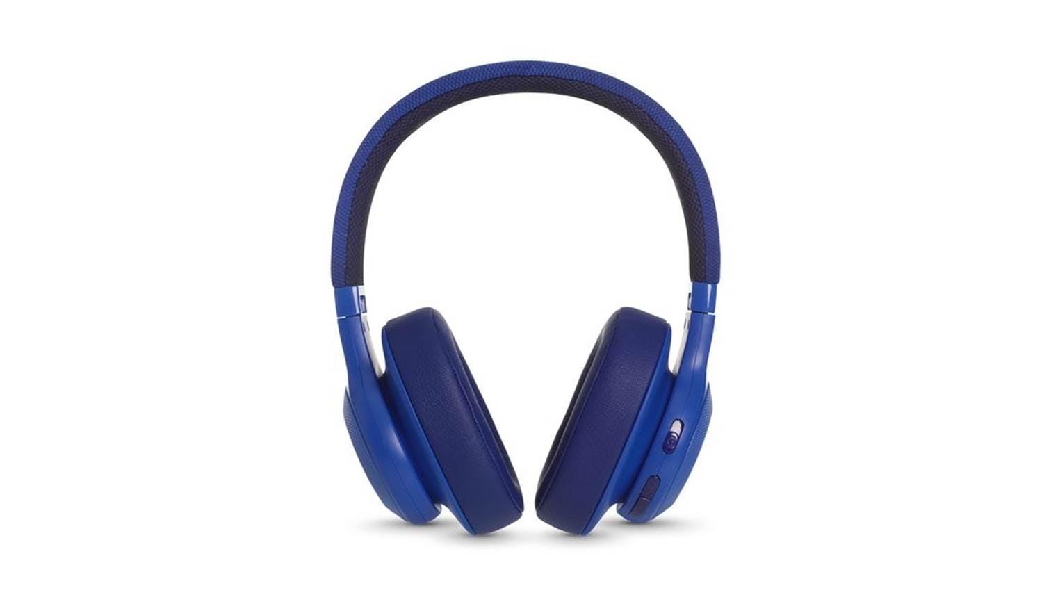 jbl e55 bluetooth over ear headphone blue harvey norman singapore. Black Bedroom Furniture Sets. Home Design Ideas