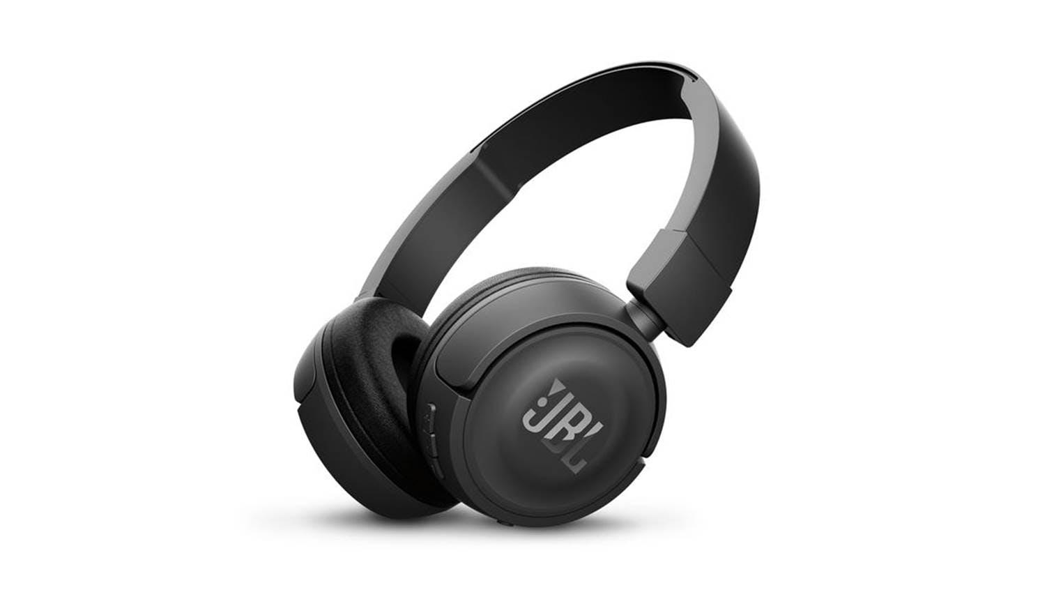 82a635e2b2a JBL T450 Bluetooth On-Ear Headphones - Black | Harvey Norman Singapore