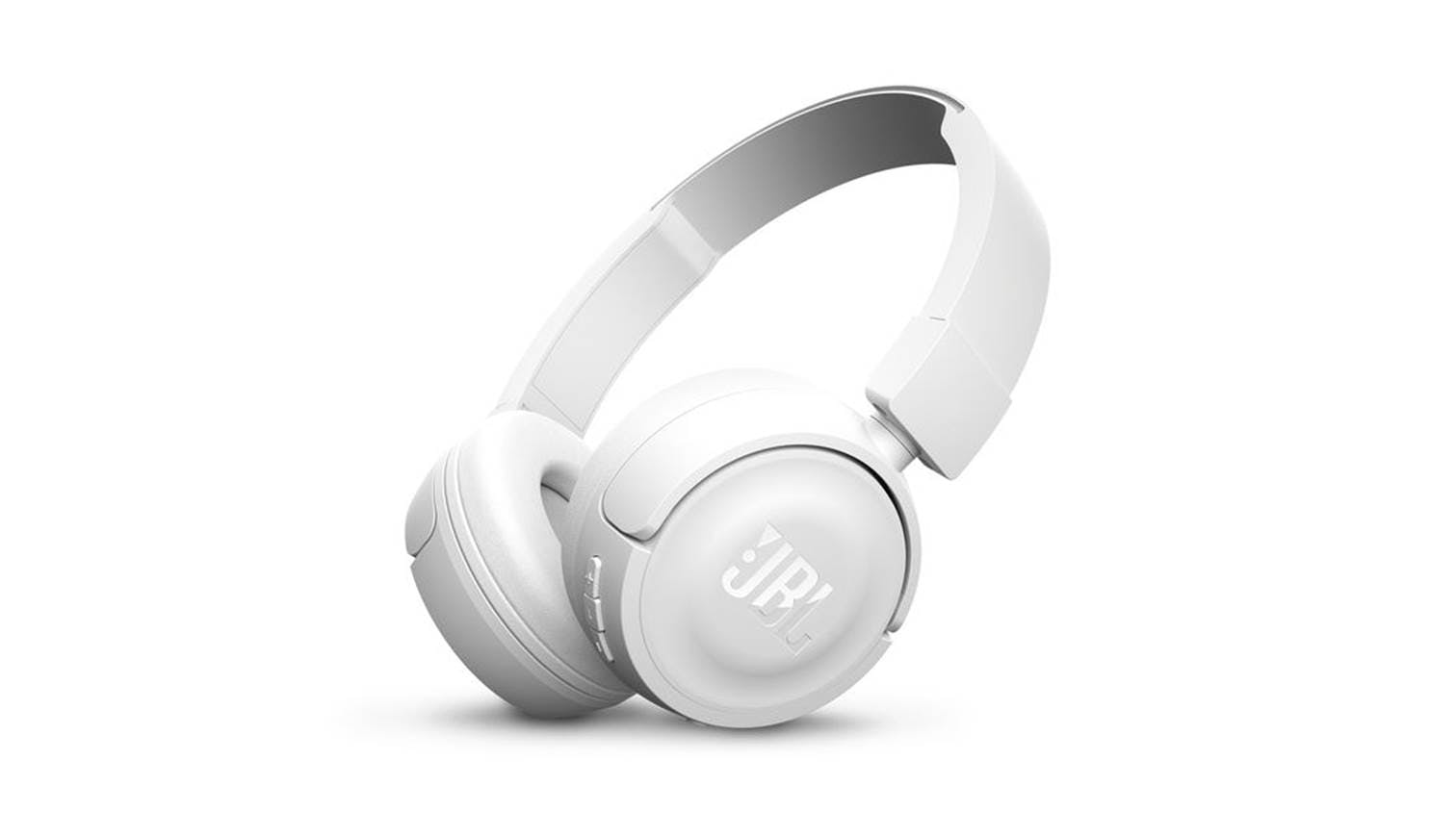 ef89a655890 JBL T450 Bluetooth On-Ear Headphones - White | Harvey Norman Singapore