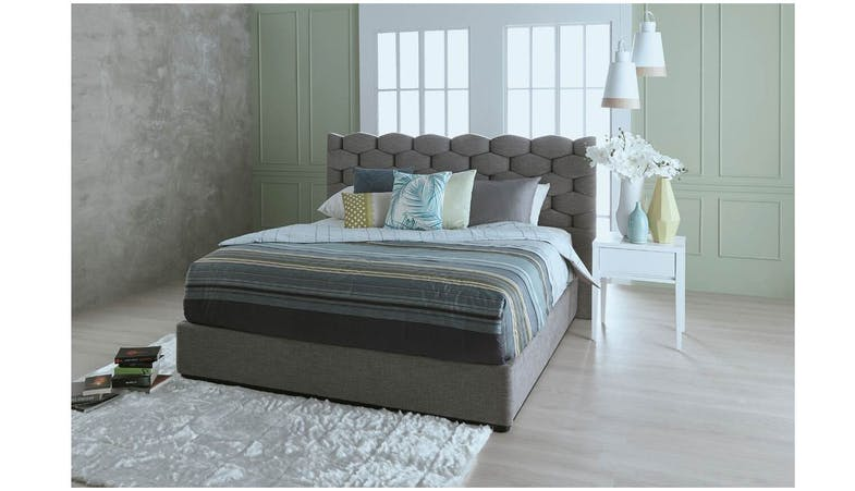 Maclean Bed Frame King Size Harvey Norman Singapore