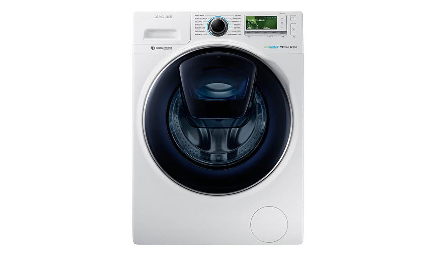 samsung ww 12k8412ow fq 12kg eco bubble washer white harvey norman singapore. Black Bedroom Furniture Sets. Home Design Ideas