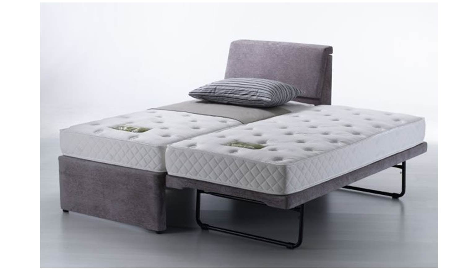 Unice Single Bed Frame With Single Pullout Bed Harvey Norman Singapore