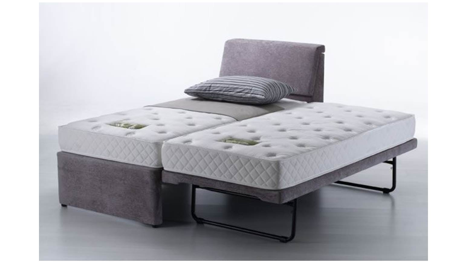 Unice Single Bed Frame With Single Pullout Bed Gd028 22