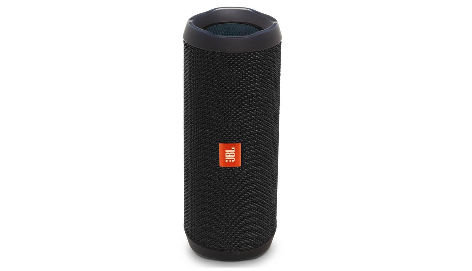 Jbl flip 4 wireless portable speaker black harvey for Housse jbl flip 4