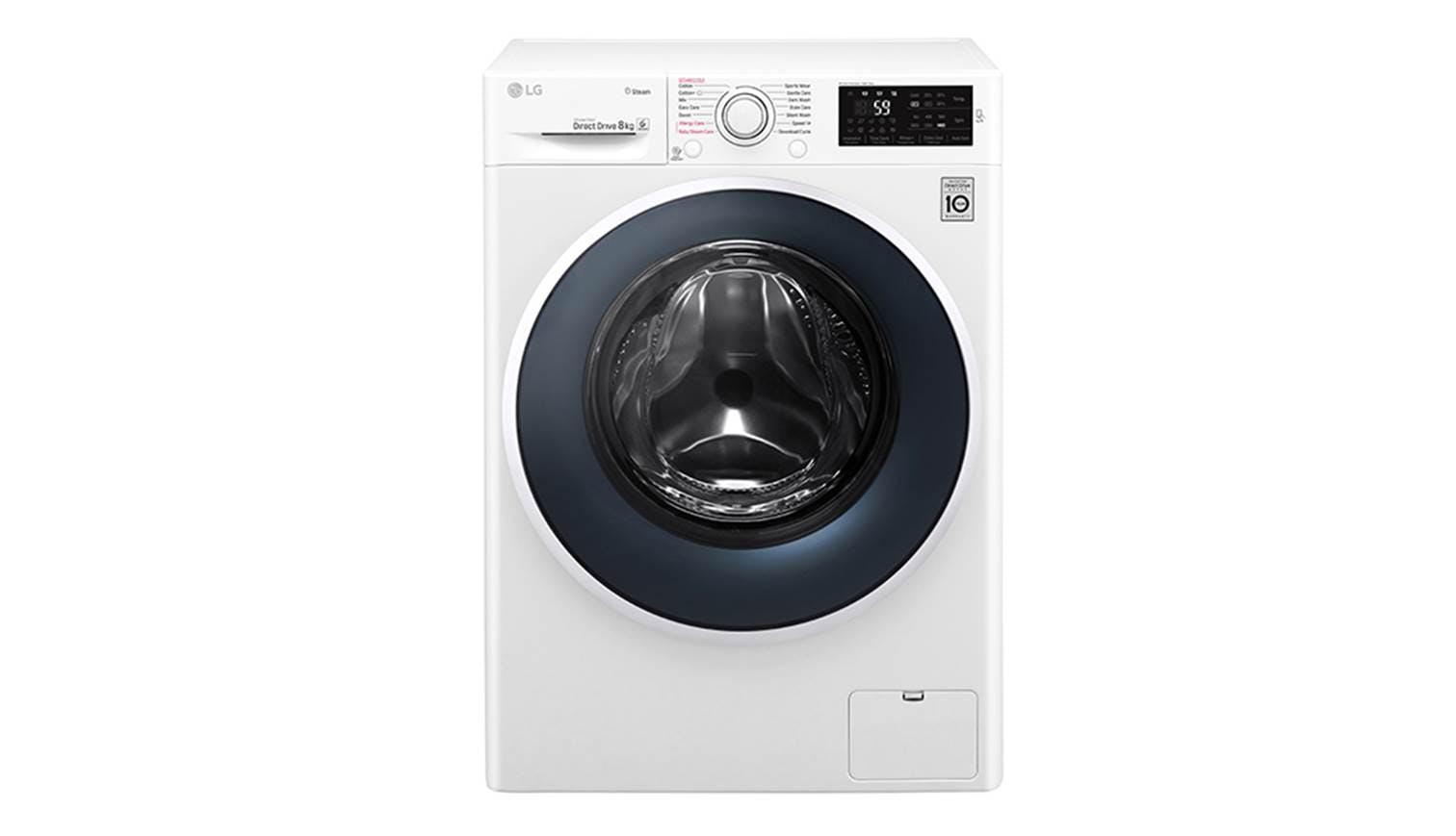 lg fc 1408s4w 8kg 6 motion inverter direct drive washer harvey norman singapore. Black Bedroom Furniture Sets. Home Design Ideas