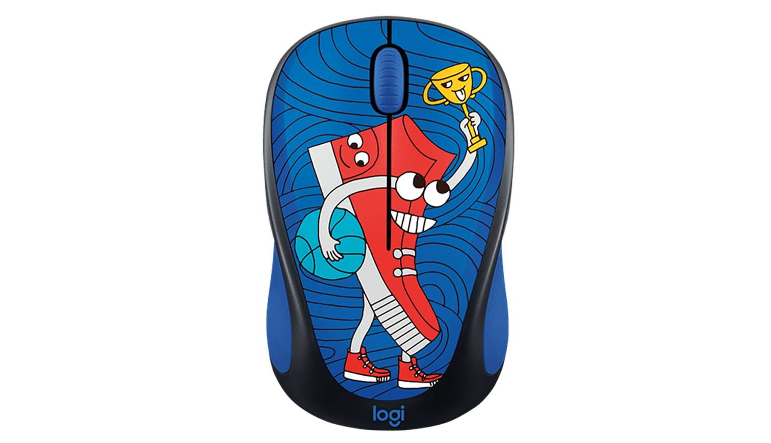 Logitech M238 Wireless Mouse Doodle Collection Sneaker