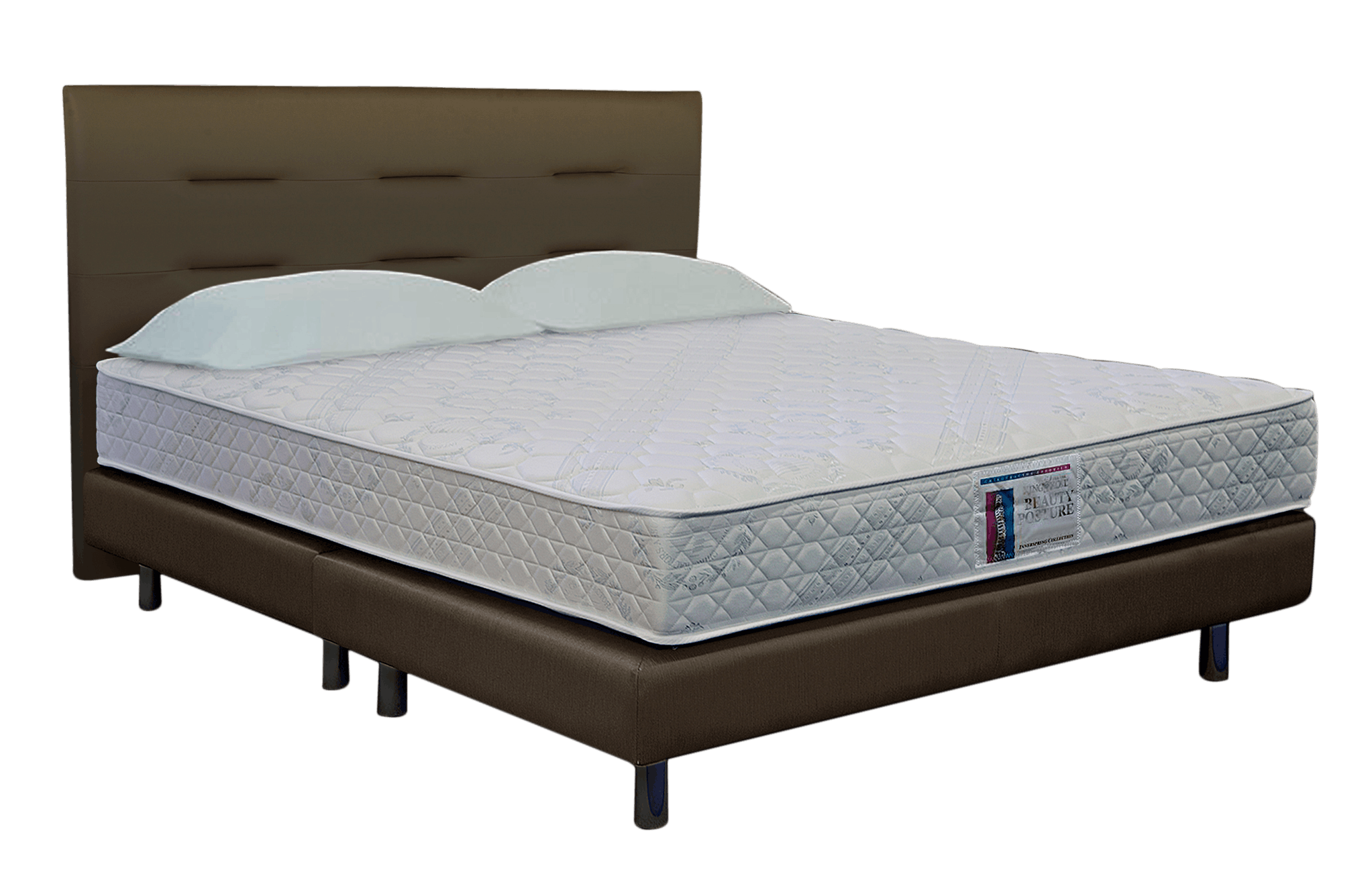 King Koil Beauty Posture Classic Queen Size Spring Mattress with ...