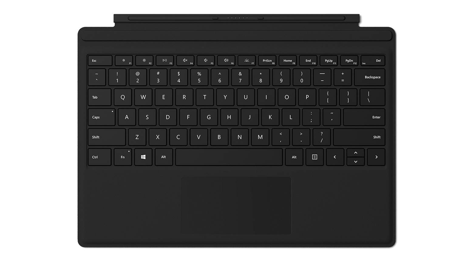 Surface Pro Type Cover 2017 Black Harvey Norman