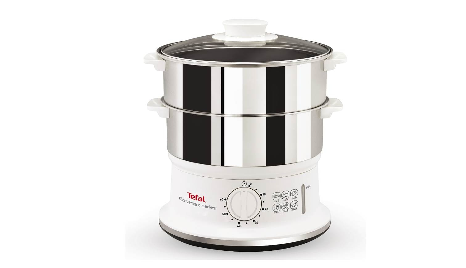 Tefal Vc 1451 Stainless Steel Convenient Steamer Harvey