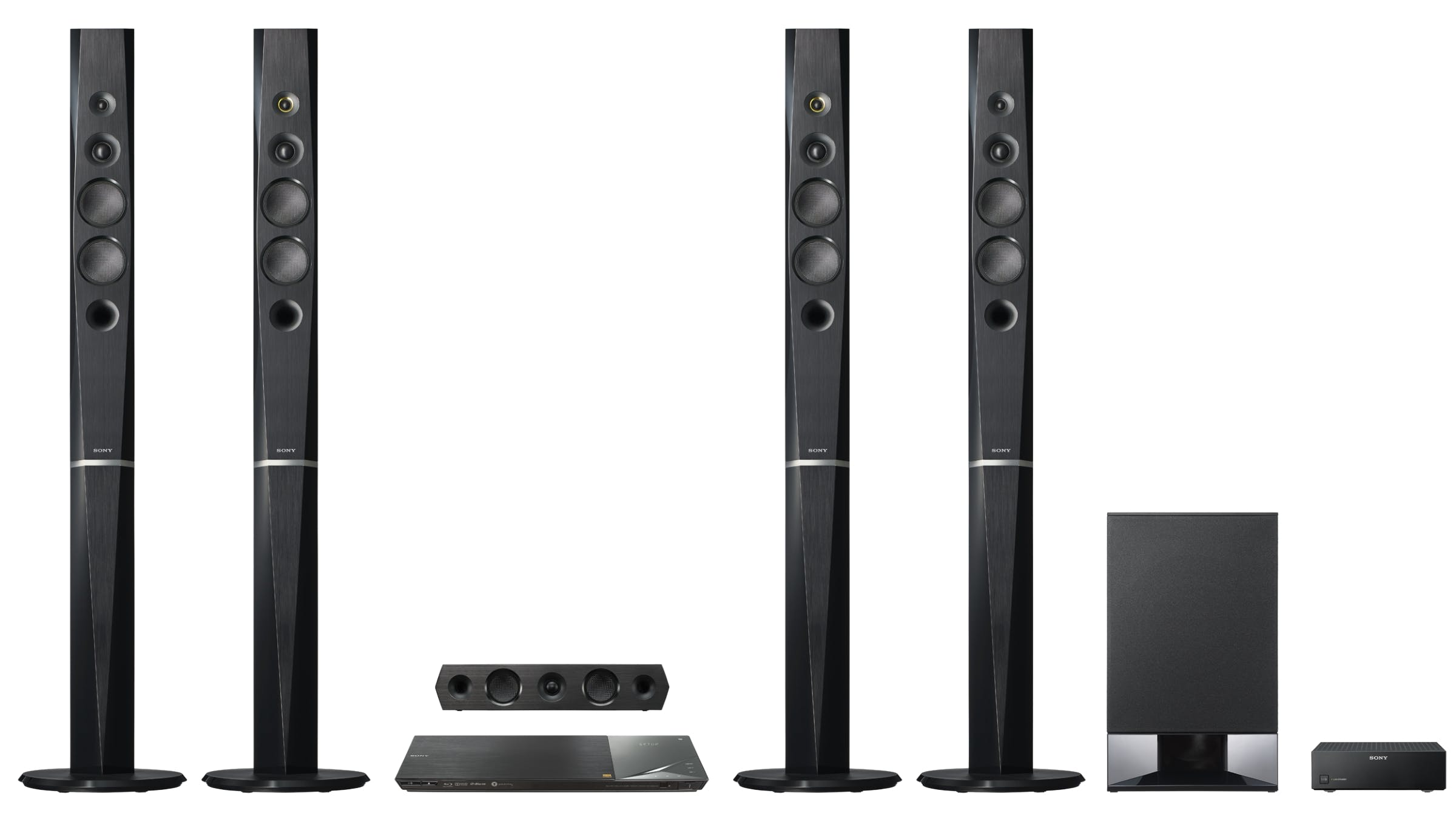 Sony 9.1 Channel Wireless Bluetooth 3D Blu-ray Home Theatre System ...
