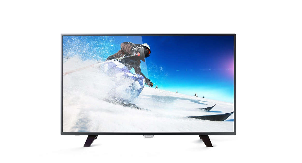 Philips 55PUT5801 55 Ultra Slim LED 4K TV (1)