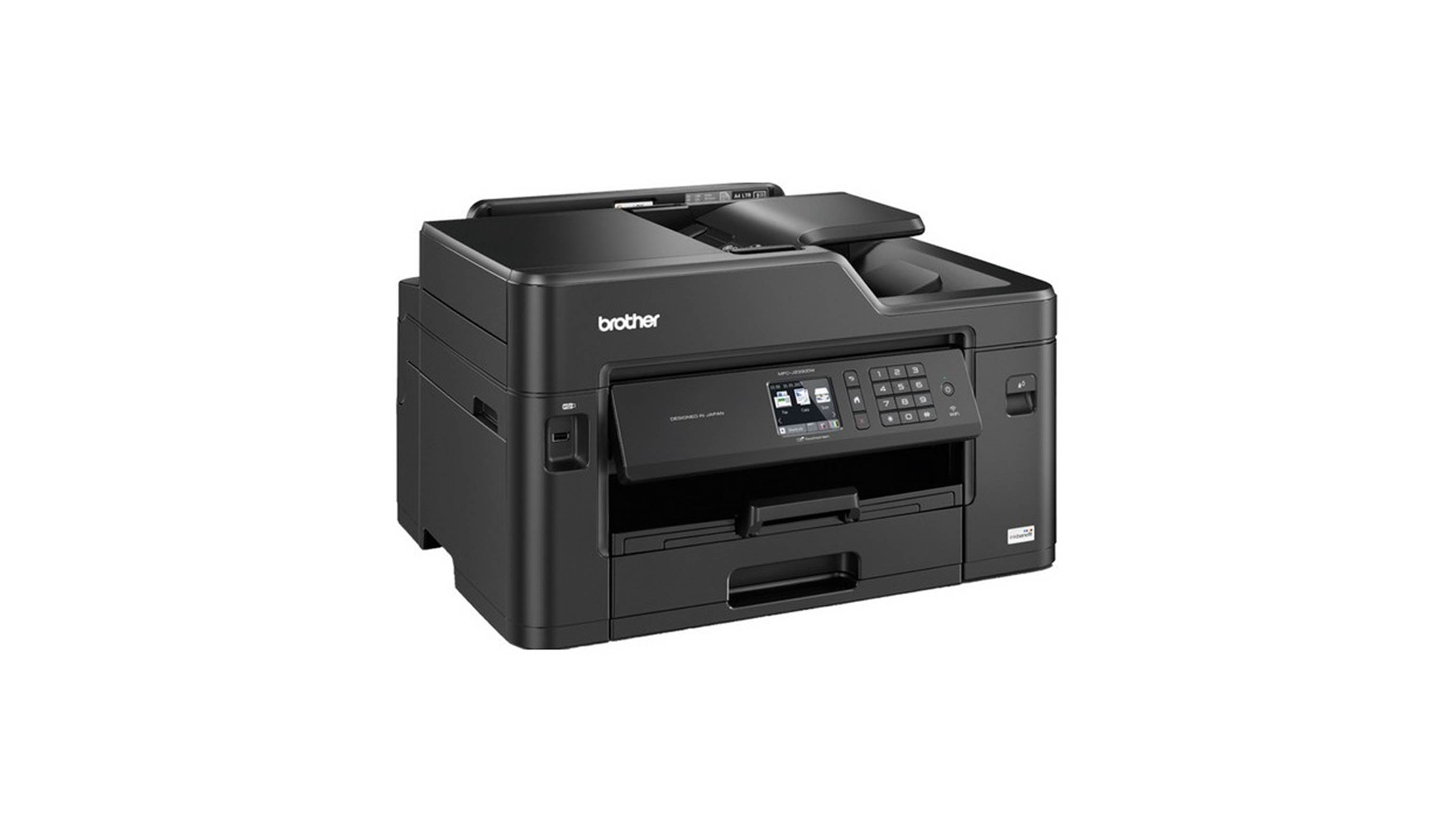 Brother Wireless Inkjet MFC-J2330DW All-in-one Printer- Side View