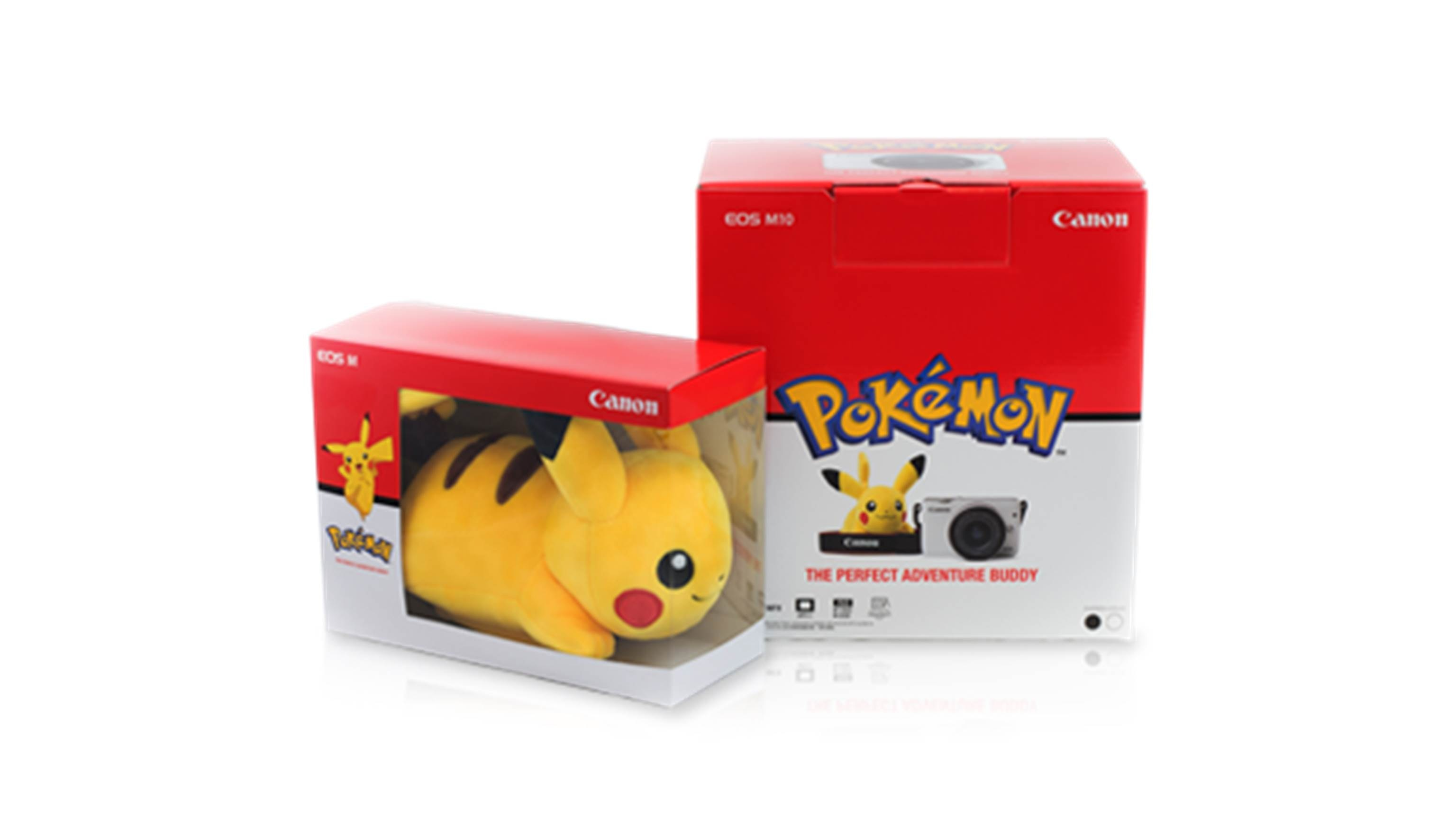 Canon EOS-M10 Pikachu Special Edition Camera with 15-45mm Lens Kit - Black (3)