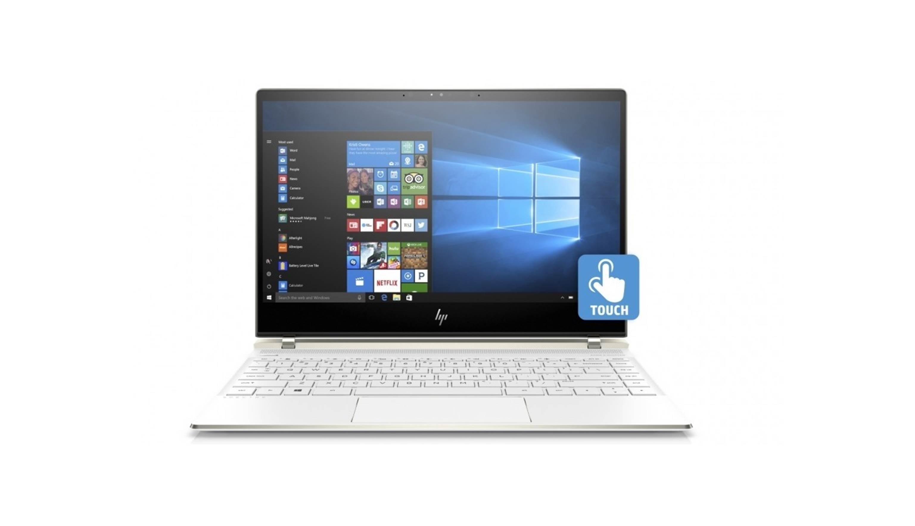 Hp Spectre 13 Laptop I5 Ceramic White Harvey Norman