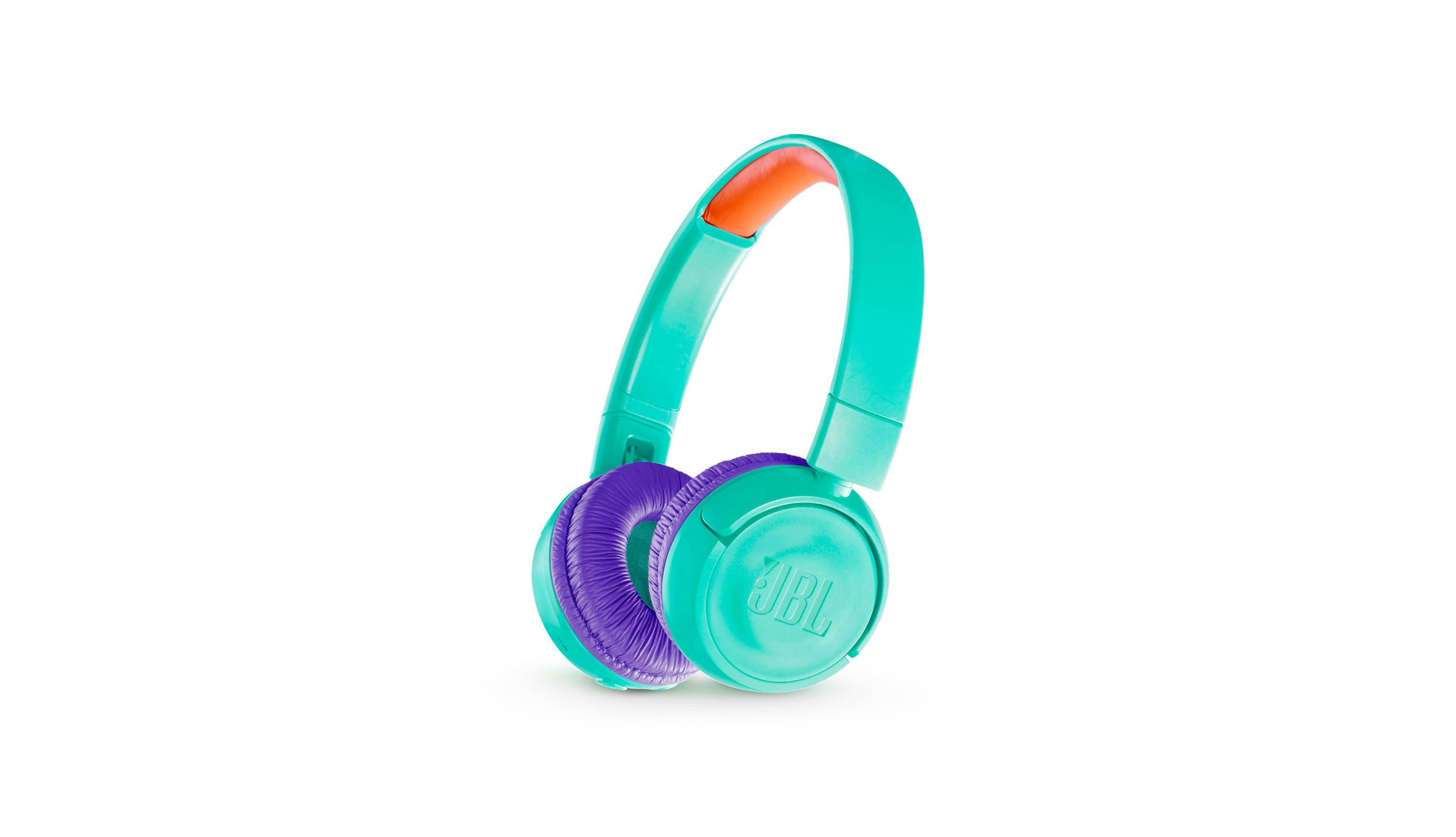 a67733eea60 JBL JR300BT Kids Wireless On-Ear Headphones - Teal | Harvey Norman Singapore