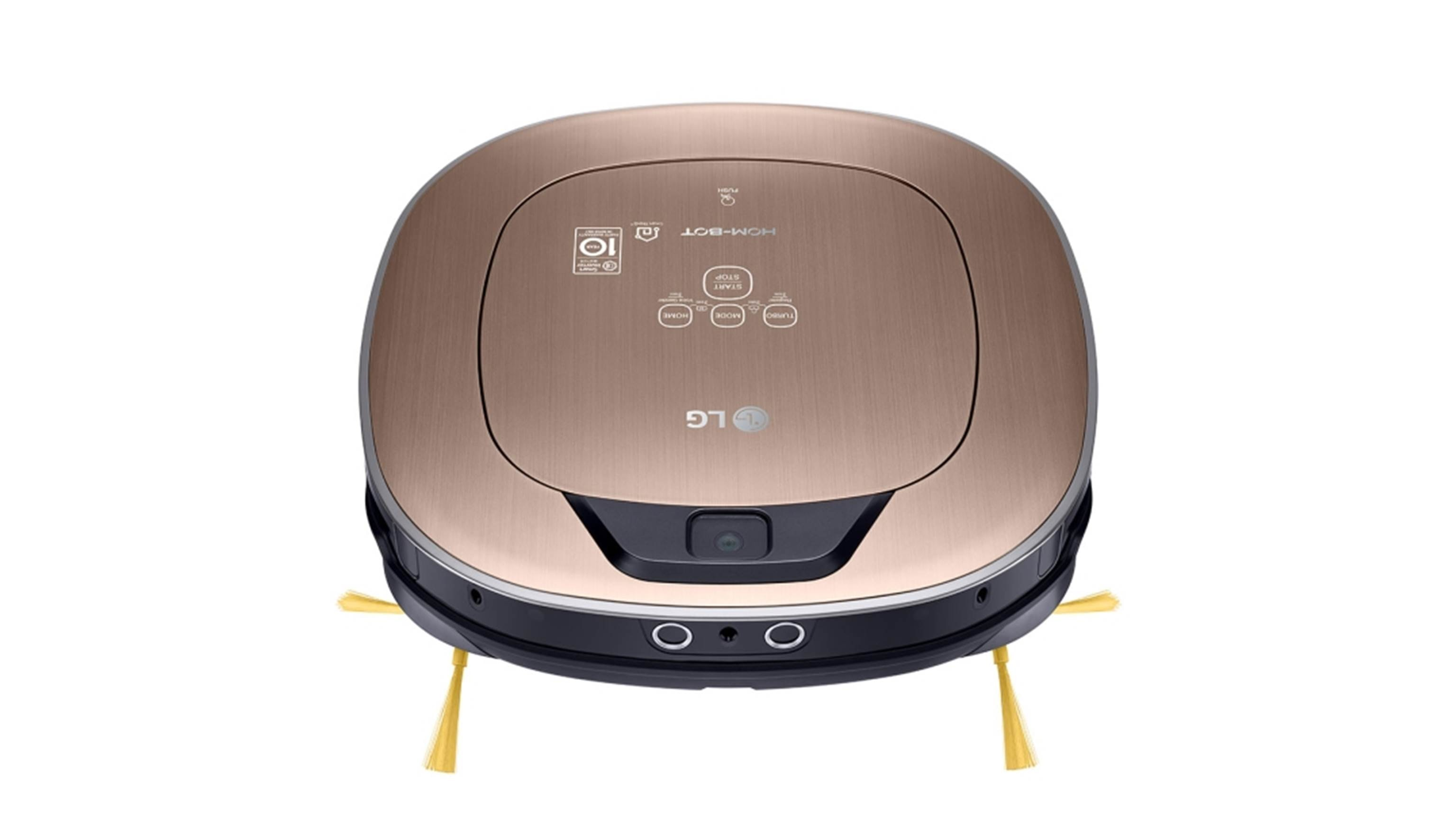 LG VR66820VMNC Network Robotic Vacuum Cleaner- Top Front View