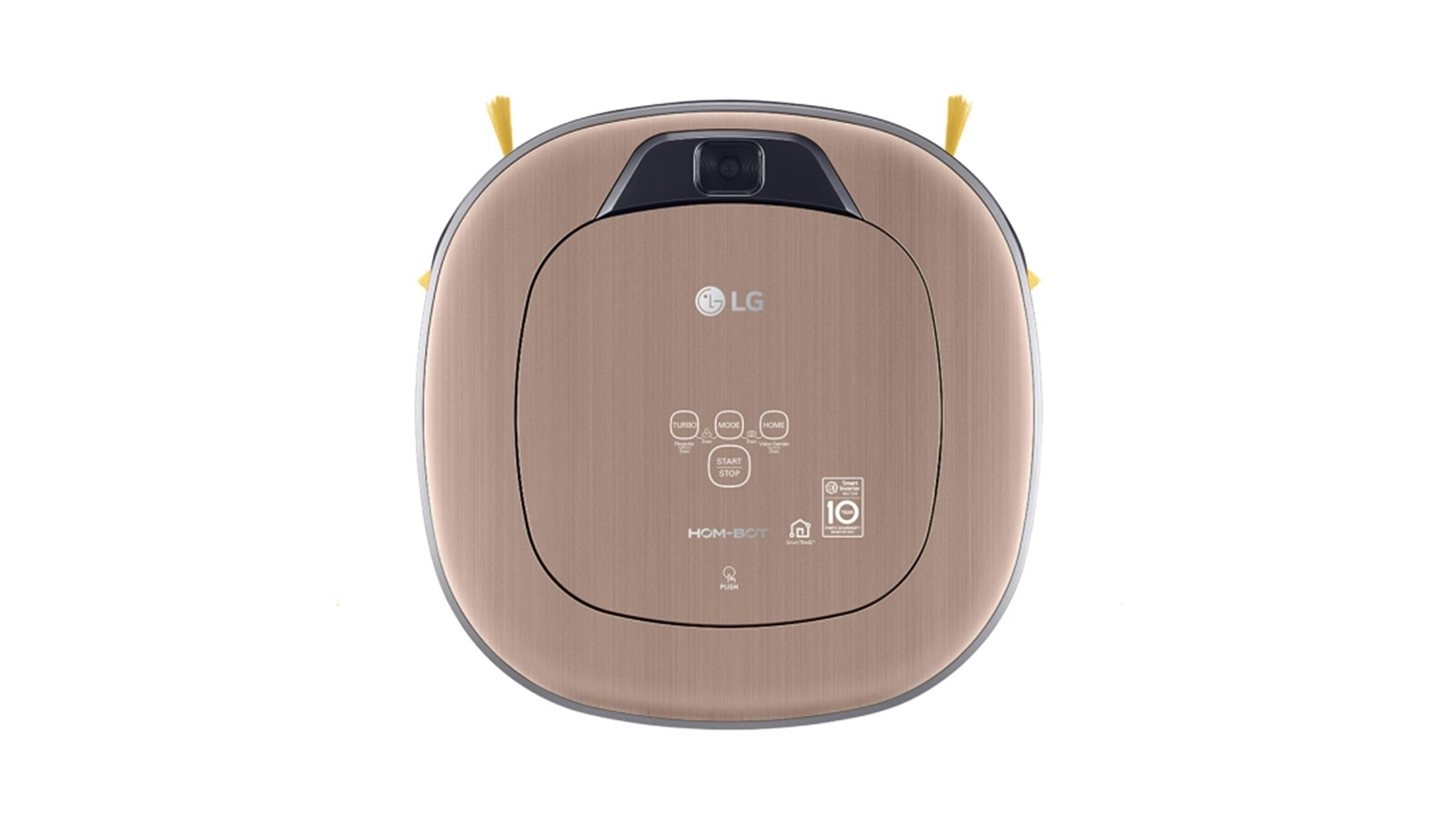 LG VR66820VMNC Network Robotic Vacuum Cleaner- Top View